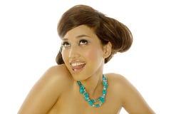 ασιατική όμορφη γυναίκα στοκ φωτογραφία