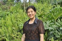 Ασιατική ώριμη γυναίκα Στοκ φωτογραφία με δικαίωμα ελεύθερης χρήσης