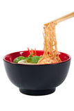ασιατική noodle σούπα στοκ φωτογραφία