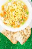 Ασιατική noodle σούπα Στοκ φωτογραφίες με δικαίωμα ελεύθερης χρήσης