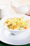 Ασιατική noodle σούπα Στοκ Φωτογραφίες