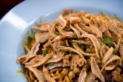 ασιατική noodle mee πανοραμική λήψ&et Στοκ φωτογραφία με δικαίωμα ελεύθερης χρήσης