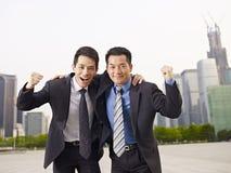 ασιατικοί επιχειρηματί&epsilon Στοκ Εικόνα