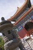 Ασιατικοί δοχείο και ναός Στοκ Εικόνες