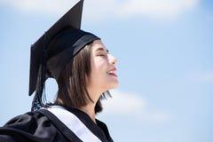 Ασιατικός απόφοιτος φοιτητής στοκ φωτογραφίες με δικαίωμα ελεύθερης χρήσης