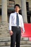 ασιατικός απόφοιτος φοιτητής 2 Στοκ Φωτογραφία