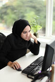Ασιατικός αραβικός εργαζόμενος Στοκ φωτογραφίες με δικαίωμα ελεύθερης χρήσης