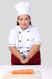 Ασιατικός αρχιμάγειρας γυναικών Στοκ Εικόνες