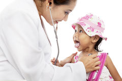 ασιατικός ασθενής γιατρών στοκ εικόνες