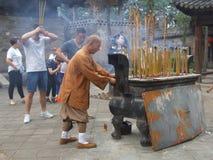Ασιατικός βουδισμός Στοκ Εικόνες