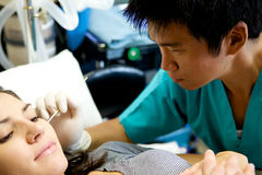 ασιατικός γιατρός στοκ εικόνες