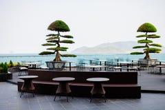 Ασιατικός εξωτικός καφές υπαίθρια στοκ φωτογραφία