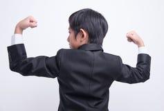Ασιατικός επιχειρηματίας αγοριών Στοκ Εικόνα