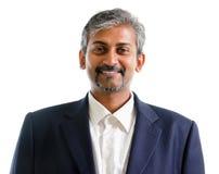 Ασιατικός ινδικός επιχειρηματίας Στοκ Φωτογραφία