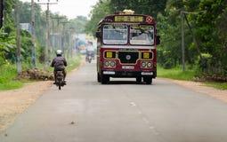 Ασιατικός κανονικός δημόσιος διάδρομος στη Σρι Λάνκα στοκ φωτογραφίες