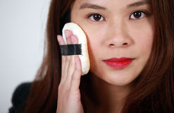 Ασιατικός καλλιτέχνης Makeup Στοκ Φωτογραφία