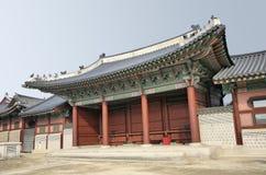 ασιατικός ναός προοπτικής Στοκ Φωτογραφίες