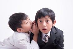 Ασιατικός προϊστάμενος προσωπικού αγοριών Στοκ Φωτογραφίες