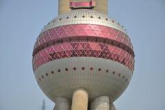 Ασιατικός πύργος TV μαργαριταριών της Σαγγάης Στοκ εικόνα με δικαίωμα ελεύθερης χρήσης