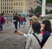 Ασιατικός τουρίστας Στοκ Εικόνα