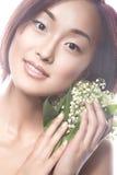 Ασιατικός τύπος κοριτσιών μόδας όμορφος με λεπτό Στοκ εικόνα με δικαίωμα ελεύθερης χρήσης