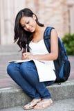 ασιατικός φοιτητής πανεπ&i στοκ εικόνα