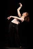 Ασιατικός χορός κοιλιών Στοκ φωτογραφία με δικαίωμα ελεύθερης χρήσης