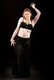 Ασιατικός χορός κοιλιών Στοκ Εικόνες