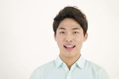 Ασιατικός όμορφος άνδρας σπουδαστής Στοκ εικόνες με δικαίωμα ελεύθερης χρήσης