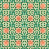 Ασιατικό άνευ ραφής damask σχεδίων arabesque και floral στοιχεία β Στοκ φωτογραφία με δικαίωμα ελεύθερης χρήσης