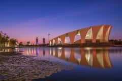 Ασιατικό αθλητικό κέντρο Σαγκάη Στοκ Φωτογραφίες
