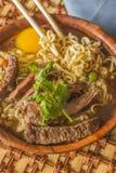 Ασιατικό βόειο κρέας Ramen Στοκ φωτογραφίες με δικαίωμα ελεύθερης χρήσης