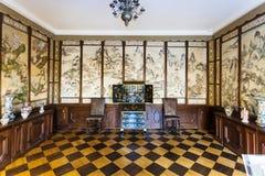 Ασιατικό δωμάτιο στο παλάτι Menshikov στη Αγία Πετρούπολη Στοκ εικόνα με δικαίωμα ελεύθερης χρήσης