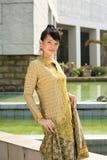 ασιατικό ελκυστικό κορί& στοκ φωτογραφία