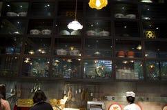 Ασιατικό εσωτερικό εστιατορίων Στοκ εικόνες με δικαίωμα ελεύθερης χρήσης
