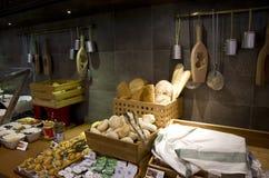 Ασιατικό εσωτερικό εστιατορίων Στοκ Φωτογραφία