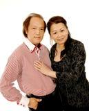 Ασιατικό ζεύγος Στοκ εικόνες με δικαίωμα ελεύθερης χρήσης