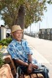 ασιατικό ηλικιωμένο άτομο Στοκ Φωτογραφίες