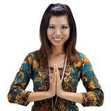 ασιατικό θηλυκό Στοκ Φωτογραφίες