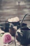 ασιατικό καθορισμένο τσά&i φωτογραφία που τονίζετα&i Στοκ φωτογραφία με δικαίωμα ελεύθερης χρήσης