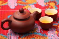 ασιατικό καθορισμένο τσά&i Στοκ Εικόνες