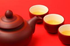 ασιατικό καθορισμένο τσά&i Στοκ φωτογραφία με δικαίωμα ελεύθερης χρήσης