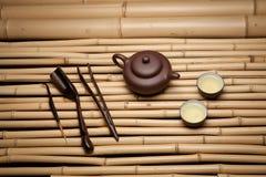 ασιατικό καθορισμένο τσά&io Στοκ Φωτογραφίες