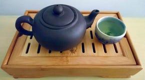 ασιατικό καθορισμένο τσά&io Στοκ εικόνα με δικαίωμα ελεύθερης χρήσης