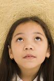 ασιατικό κατσίκι που ανα& Στοκ Εικόνες