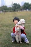ασιατικό κατσίκι σκυλιών Στοκ φωτογραφία με δικαίωμα ελεύθερης χρήσης