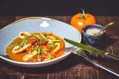 Ασιατικό καυτό γεύμα Στοκ φωτογραφία με δικαίωμα ελεύθερης χρήσης