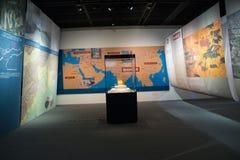 Ασιατικό κινεζικό, κύριο μουσείο, Πεκίνο, νότος στην έκθεση προγράμματος παρεκτροπής βόρειου νερού Στοκ εικόνες με δικαίωμα ελεύθερης χρήσης