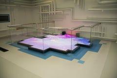 Ασιατικό κινεζικό, κύριο μουσείο, Πεκίνο, νότος στην έκθεση προγράμματος παρεκτροπής βόρειου νερού Στοκ Εικόνες