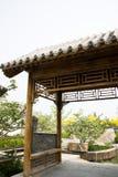 Ασιατικό κινεζικό παλαιό περίπτερο οικοδόμησης Στοκ Εικόνες